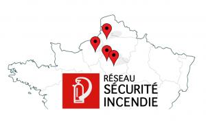 Carte du Réseau LRSI
