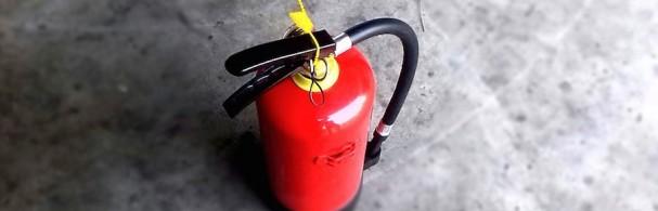 Bien utiliser un extincteur pour la protection incendie