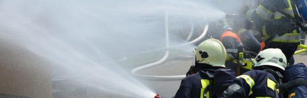 Intervention lutte contre un incendie