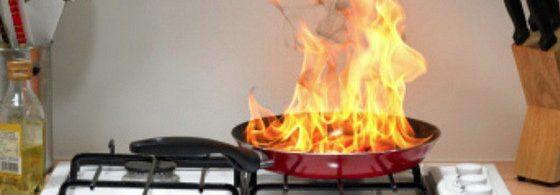 Feu domestique Sécurité incendie