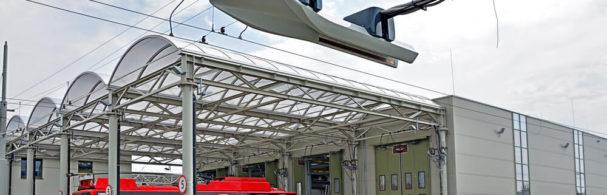 sécurité incendie bus électriques
