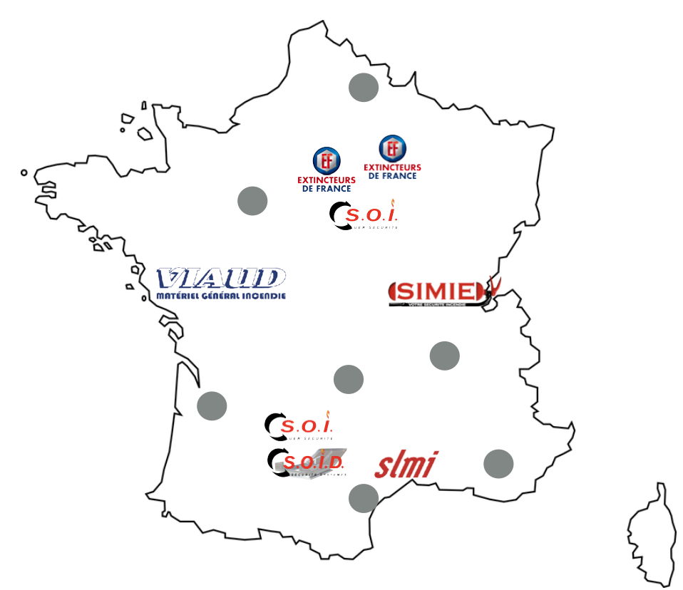 Carte groupe SIMIE